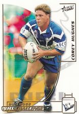 2002 Select Challenge Rugby League Card no 55 Corey Hughes Bulldogs