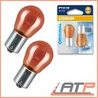 2x OSRAM PY21W 21W ULTRA LIFE GELB BIRNE LAMPE BLINKERLAMPE LEUCHTMITTEL