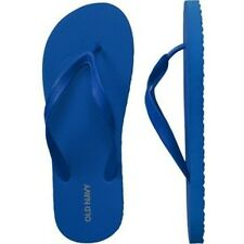 NWT Mens FLIP FLOPS Old Navy Sandals SIZE 10-11 ROYAL BLUE Shoes pool beach