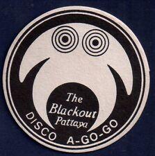 THE BLACKOUT DISCO A GO GO / PATTAYA / THAILAND COASTER NO15024