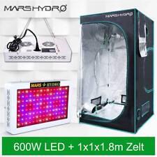 Mars Hydro 600W LED Grow Lights +Grow Tent 100*100*180 Indoor Zelt Room Plants