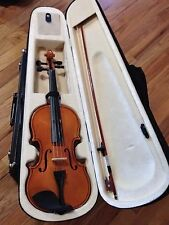 4/4 Violin with Bow and Black Soft Case