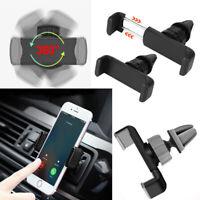 Universal 360°Rotating Car Air Vent Mount Cradle Holder For Mobile Phone  sa