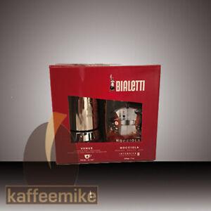 Bialetti Venus Herdkanne 4 Tassen + 200 g Nocciola Kaffee gemahlen