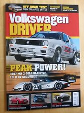 VOLKSWAGEN Driver Motoring Monthly Magazine Mk7 GTI 162mph Issue 191 April 2016