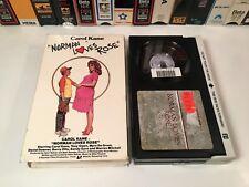 * Norman Loves Rose 80's Comedy Betamax NOT VHS 1982 Carol Kane Vestron Beta