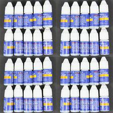 40X Manicure Art Tips Stick Decorations Rhinestone UV Gel False Nail Glue #20x4