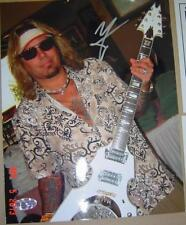 Vince Neil from Mötley Crüe autographed signed 8X10 Photo PAC COA and Hologram