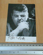 Robbie Clotrane Cracker hand signed photgraph
