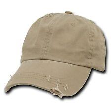 (10)Black & (10) Khaki Vintage Polo Caps