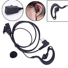 2 PIN PTT Mic Earpiece Headset for Motorola GP88 GP300 CP88 CP040 CP100 Radio