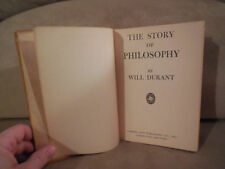 The Story of Philosophy by Will Durant HC 1943 Garden City Publishing FREE SHIP!