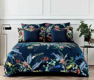 Sheridan Willow Cove Quilt Cover Set Midnight