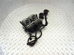 2012 08-12 Kawasaki EX250 Ninja 250R Carburetor Carb Intake Gas Fuel OEM