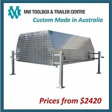 ALUMINIUM CANOPY for Dual Cab Utes - Custom Made to Order