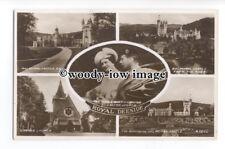r1317 - King George VI & Queen Elizabeth (Bowes-Lyon) - multiview postcard