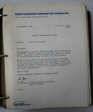 Pratt & Whitney Service Bulletins No. 1150  13 February 1972- Aug 1982 No.1483