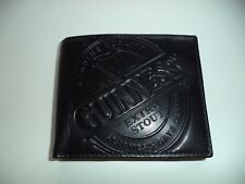 Guinness leather wallet black stout beer Dublin Ireland St James's Gate Irish
