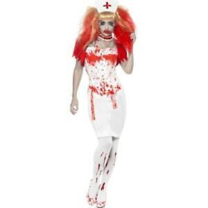 Blood Drip Halloween Nurse Costume