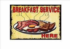 Amerikanischer Retro-stil Diner-zeichen Café-schild Frühstück Retro-zeichen