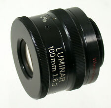 CARL ZEISS Luminar Linhof 4x5 6,3/100 100mm F6,3 Lupenobjektiv loupe lens size 0