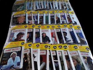 NEUF SCELLE JOHNNY HALLYDAY INTEGRALE 50 LIVRES + CD DE LA COLLECTION OFFICIELLE