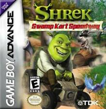 Shrek Swamp Kart Speedway GBA Great Condition Fast Shipping