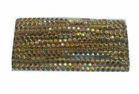 9YD-Crystal-Round-Rhinestone-Chain-Ribbon-Trim-Sew-Applique-Golden-Silv L 381