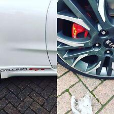 Kia Pro ceed GT Custom Brake Caliper Vinyl Car Stickers Decal Stance Drift x4