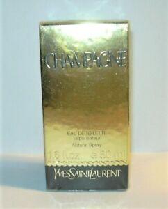 YSL CHAMPAGNE - EDT Spray - Yves SAINT LAURENT mit BOX - 50 ml - Vintage