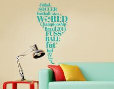 South America Soccer - highest quality wall decal stickers