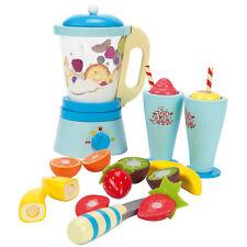 Le Toy Van Fruit Blender Set | Toy Smoothie Blender | Wooden Toy Kitchen Blender