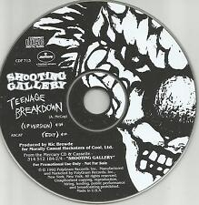 Hanoi Rocks SHOOTING GALLERY Teenage Breakdown PROMO CD Sham 69 Psychedelic Furs