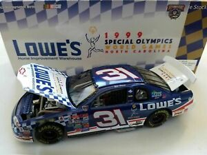 MIKE SKINNER 1998 SPECIAL OLYMPICS LOWE'S 1/24 ACTION DIECAST CAR 1/8,004