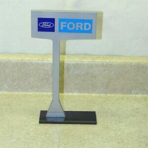 Advertising Ford Car Dealership Desk Top Sign, Repro, Nice!