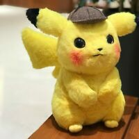 2019 Pokémon Detective Pikachu 11'' 9'' Plush New Lovely Cute Toys Kids Gift NEW