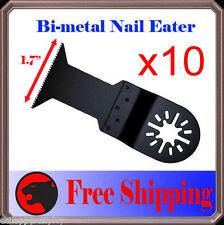 10 Nail Eater Wide Oscillating Multitool Saw Blade Fein Craftsman Makita Ridgid