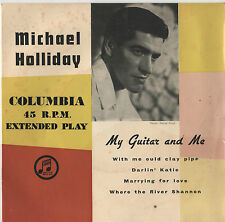 """Michael Holliday - My Guitar And Me 7"""" Ep c1958"""