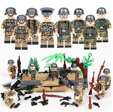 Set Legoing Lego Military Soldiers Set Weapons US Army WW2 World War 2