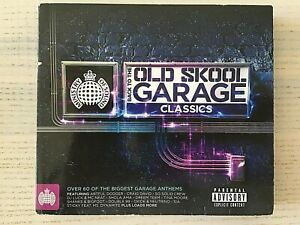 MINISTRY OF SOUND - OLD SKOOL GARAGE CLASSICS - 3 x CD Album #267 - 66 TRACKS