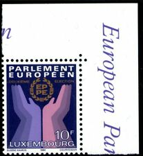 Luxembourg 1984 10F European Parliament Mint, Fine Used and First Day Cover