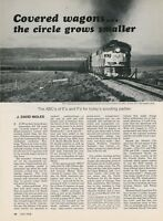 1978 Current Active GM Electromotive Division E & F Units Locomotive Engines