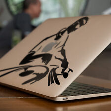 "DJ MIXING / DECKS Apple MacBook Decal Sticker fits 11"" 13"" 15"" and 17"" models"