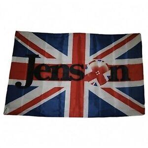 NEW Jenson Button McLaren Flag F1 Formula One Union Jack WEC Super GT 140 x 90cm