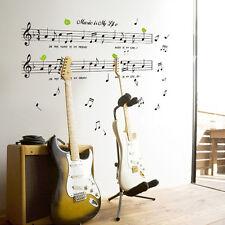 Music Sticker Music Is My Life Theme Music Bedroom Decor & Dancing Music