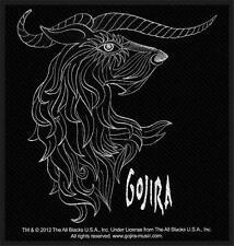 OFFICIAL LICENSED - GOJIRA - HORNS SEW ON PATCH METAL PROG