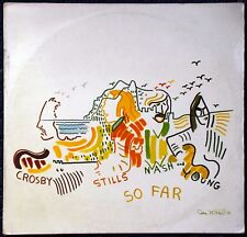 33t Crosby Stills Nash and Young - So far (LP) - 1974