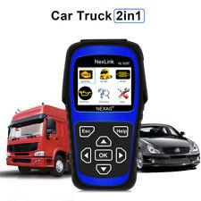 Heavy Duty Truck OBD2 Diagnostic Car Scan Tool DPF Oil Light Reset Code Reader