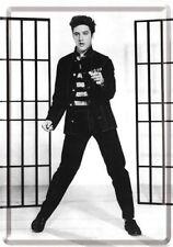 Elvis metal postcard Jailhouse Rock photo