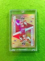PATRICK MAHOMES GOLD PRIZM CARD JERSEY #15 CHIEFS #/10 SP 2019 Panini ELITE DECK
